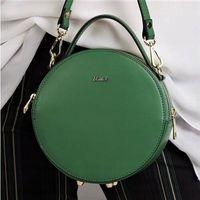 Torebka damska kuferek włoski skórzany rovicky zielony