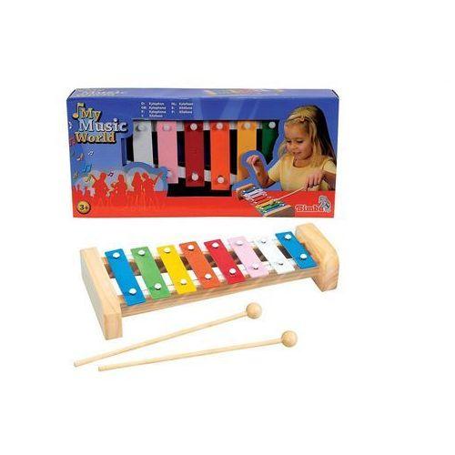 Simba My music world drewniane cymbałki - toys. darmowa dostawa do kiosku ruchu od 24,99zł