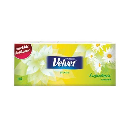 10x9szt aroma chusteczki higieniczne zapachowe rumianek Velvet