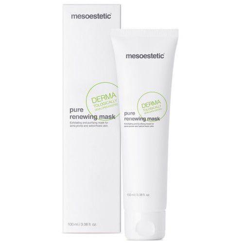 Maska oczyszczająca i złuszczająca pure renewing mask - 100 ml Mesoestetic