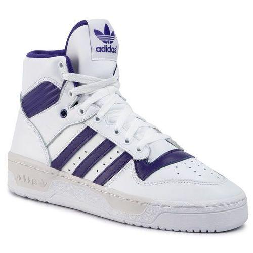 Adidas Buty - rivalry ee4973 ftwwht/cpurpl/greone