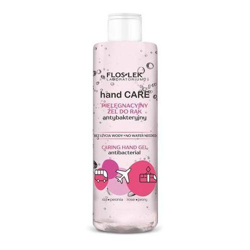 Floslek hand care pielęgnacyjny żel do rąk antybakteryjny róża i peonia 380ml - Genialna oferta