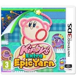 Gra 3ds kirby's extra epic yarn marki Nintendo