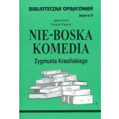 Biblioteczka opracowań zeszyt nr 15 - Nie-Boska komedia, Biblios