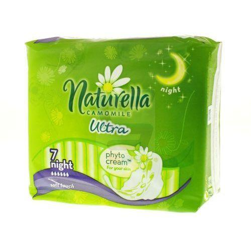 Podpaski higieniczne naturella ultra night (7 sztuk) Procter & gamble