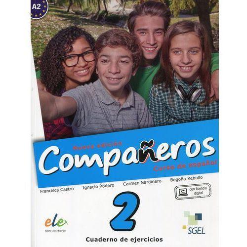 Companeros 2 Ćwiczenia + klucz dostępu - Praca zbiorowa, oprawa miękka