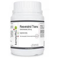Kapsułki Resveratrol trans zmikronizowany 200 mg (300 kaps.) Kenay AG