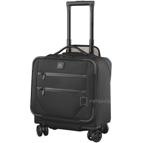 b307354a3eb25 Victorinox lexicon 2.0 mała walizka kabinowa   pilotka 24 44 cm   czarna  (7613329018156