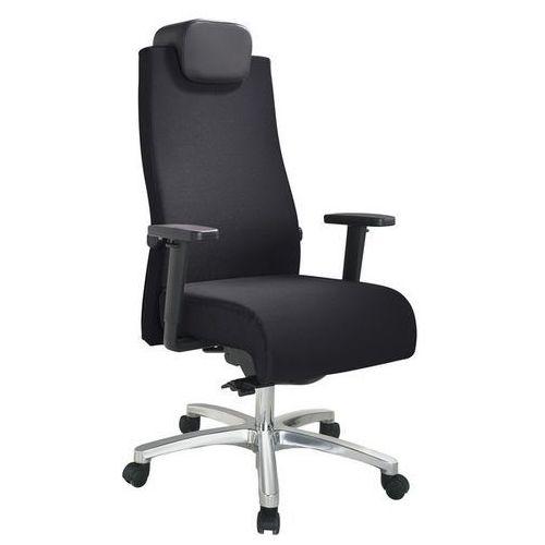 Komfortowe krzesło obrotowe big star,nośność 150 kg marki Topstar
