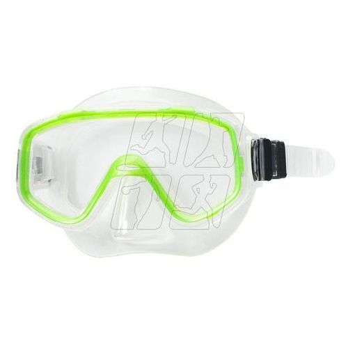 Maska do nurkowania Allright Nestia Junior zielona, SPMNESJZ