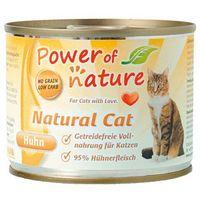natural cat kurczak karma dla kotów w puszce 200g marki Power of nature