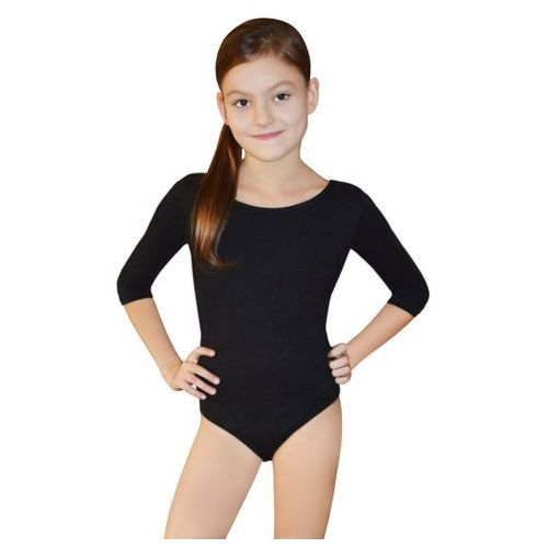 BODYSUIT JUNIOR 3/4 SLEEVE LEOTARD