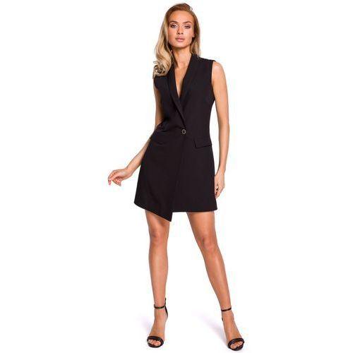 07aaadb7c63011 Zobacz w sklepie Moe M439 sukienka żakietowa bez rękawów - czarna