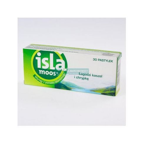 Tabletki Isla Moos past. x 30