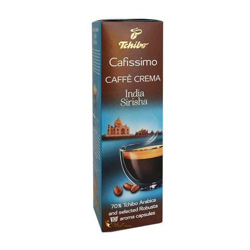 Tchibo kawa w kapsułkach cafissimo cafe crema india sirisha 10szt.