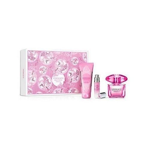 Versace Bright Crystal Absolu, Zestaw podarunkowy, woda perfumowana 90ml + leczko do ciała 100ml + woda perfumowana 10ml