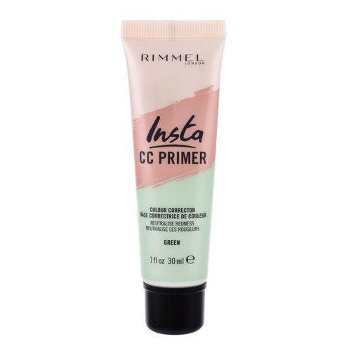 Rimmel London Insta CC Primer baza pod makijaż 30 ml dla kobiet Green - Ekstra cena