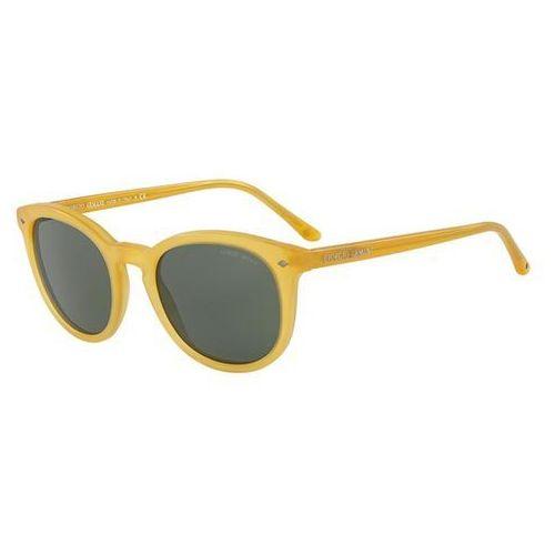 Okulary Słoneczne Giorgio Armani AR8060 500631, kolor żółty