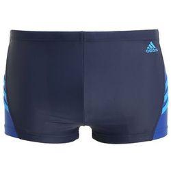 adidas Performance INSPIRATION Kąpielówki collegiate navy/blue, materiał poliamid||elastan, niebieski