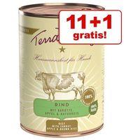 11 + 1 gratis! Terra Canis, 12 x 400 g - Indyk z brokułami, gruszką i ziemniakami (4260109620257)