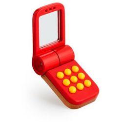 BRIO Drewniany telefon komórkowy kolor czerwony