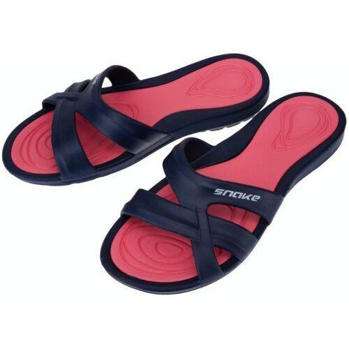 Aqua-sport klapki atena navy-red basenowe, kolor: navy, rozmiar: 41