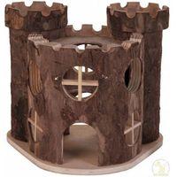 TRIXIE Zamek drewniany dla chomika 15 x 11 x 14 cm - DARMOWA DOSTAWA OD 95 ZŁ! (4011905061689)