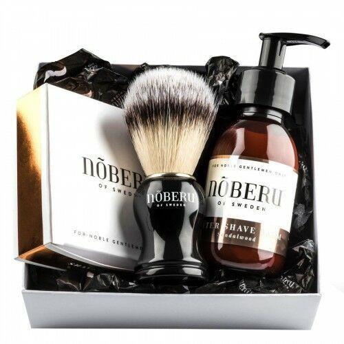 Zestaw upominkowy do golenia nõberu dla mężczyzn, sandalwood Noberu of sweden - Najlepsza oferta