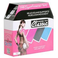 Kinesio Tex Classic taśma do tapingu 5cm x 31,5m - różowa