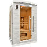 Sauna infrared + koloroterapia dh2 gh white marki Home&garden