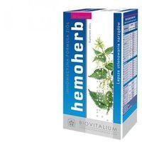 Kapsułki Hemoherb (60 kaps.) - Suplement diety na prawidłowe procesy krwiotwórcze,polepszający parametry krwi. Morfologia pod kontrolą. DARMOWA DOSTAWA OD 65 ZŁ