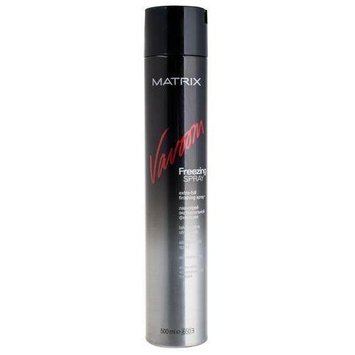 MATRIX VAVOOM Lakier do Włosów Extra Full Freezing Pełne Utrwalenie Spray 500 ml, 3474630305557