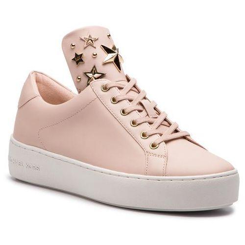 6428edd954dd9 MICHAEL Michael Kors Sneakersy MICHAEL MICHAEL KORS - Mindy Lace Up  43R9MNFS6L Soft Pink, kolor różowy
