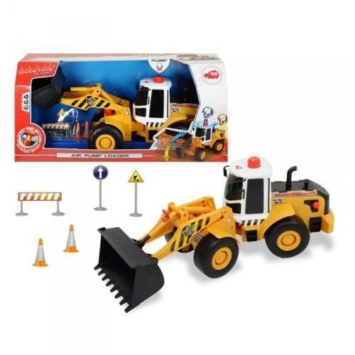 Spielzeugautos 31 cm Simba Air Pump śmieciarka z pompką