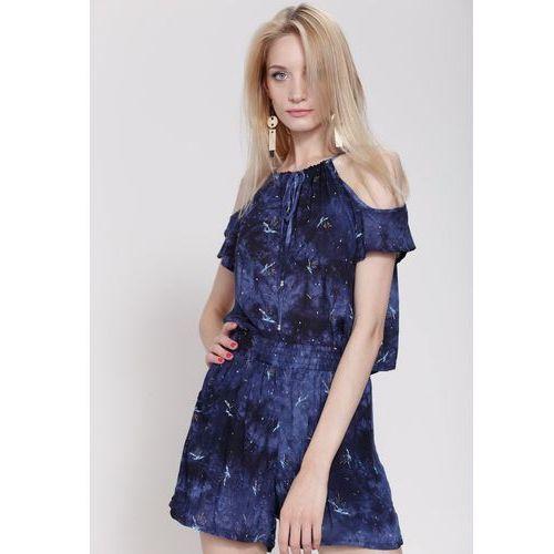 90056edc9b8a4a Komplet kobaltowy bluzka i dzwony, 1 rozmiar (RINA COSSACK) opinie + ...