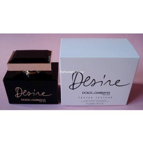 The one desire w. edp 75ml tester Dolce & gabbana
