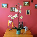 Greentree Sztuczna orchidea storczyk kwiat sztuczne kwiaty