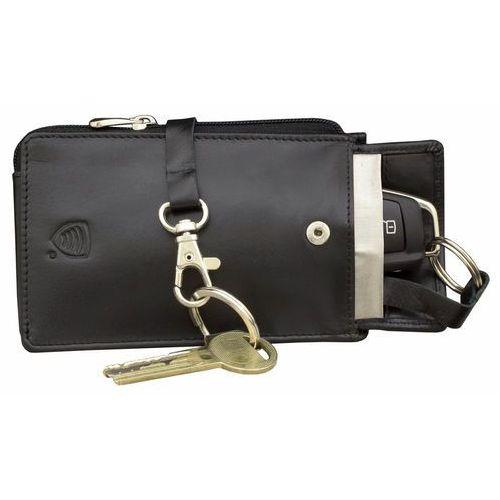 Koruma® Etui zabezpieczenie kluczyki keyless pokrowiec blokujący fale ochrona - czarny mat (5903111394196)
