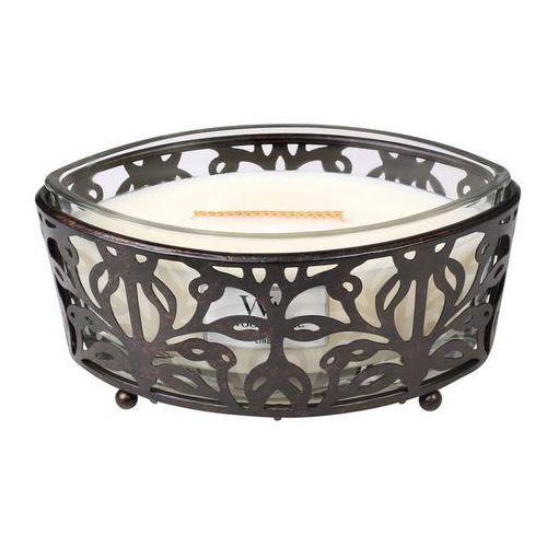Świecznik nouveau na świecę hearthwick Woodwick