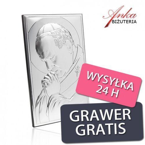 ankabizuteria.pl Prezent komunijny obraz papież jan paweł ii - dewocjonalia