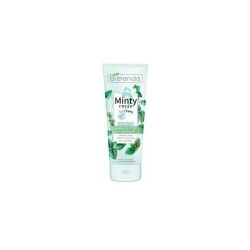 Minty fresh foot care, krem antyperspirant odświeżająco-wygłądzający, 100ml Bielenda - Ekstra oferta