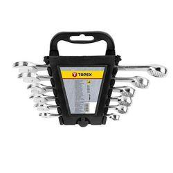 Zestaw kluczy płasko-oczkowych 8-17 mm, 6 szt. marki Topex