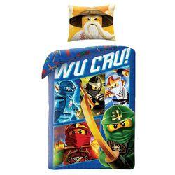 LEGO NINJAGO NINDŻAGO KLOCKI OGIEŃ POŚCIEL 140x200 i 160x200, 3667