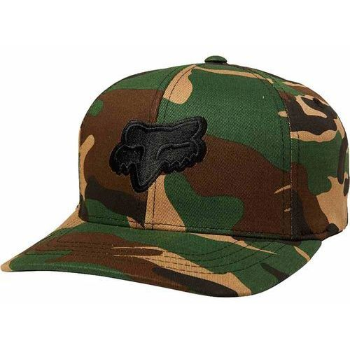 czapka z daszkiem FOX - Youth Legacy Flexfit Hat Camo (027) rozmiar: OS