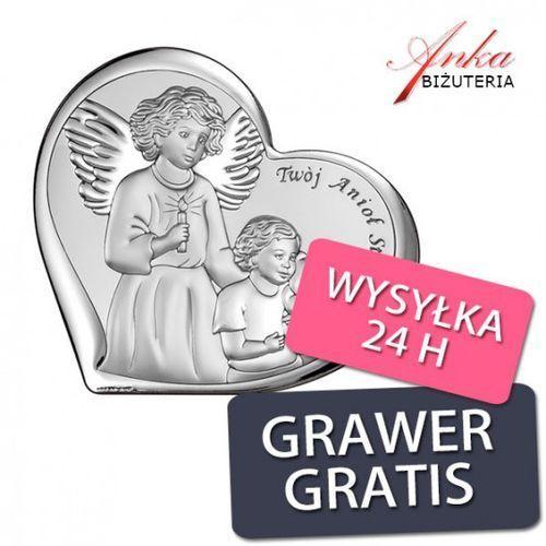 ankabizuteria.pl Pamiątka dla dziecka twój anioł stróż obrazek 15,5 cm* 14 cm
