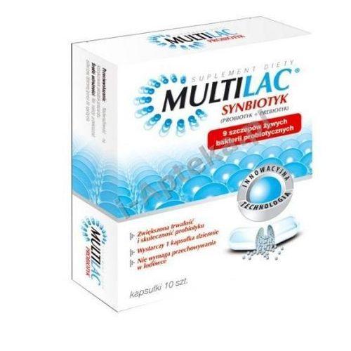 Kapsułki MULTILAC Synbiotyk (Probiotyk + Prebiotyk) x 10 kapsułek