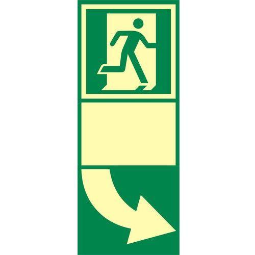 Top design Znak podklamkowy (klamka otwierana w prawo)