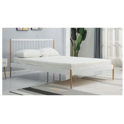 łóżko Mavio 120x200 Cm Białe Producent Elior