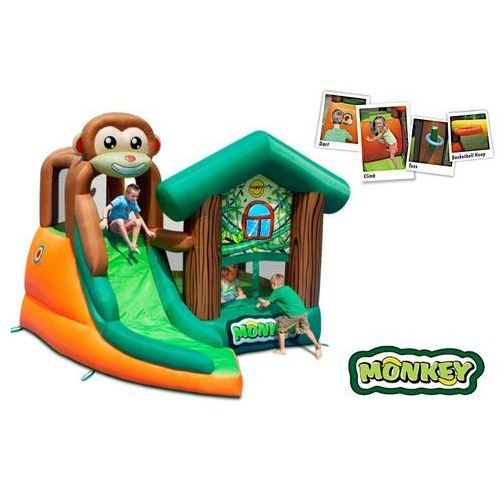 Dmuchany domek - małpi gaj marki Happyhop