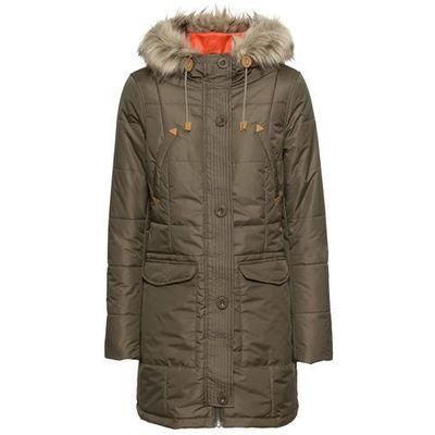26ad874cf6fae Kurtki damskie Rodzaj: zimowa, Kolor: brązowy ceny, opinie, recenzje ...